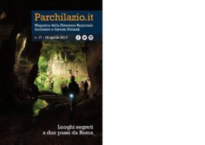Cave misteriose vicino Roma - copertina magazine regione Lazio con le cave del fosso del Drago