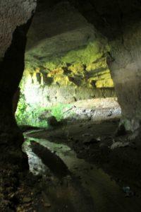 Primo capitolo della terza delle guide ai luoghi segreti vicino Roma - le cave del fosso del Drago - interno