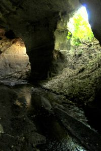guide ai luoghi segreti - cave del fosso del Drago - verso lo Stargate