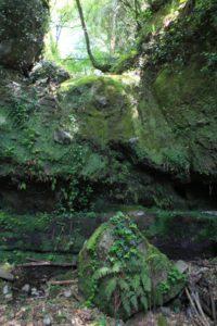 la cascata asciutta di vallone Tempesta