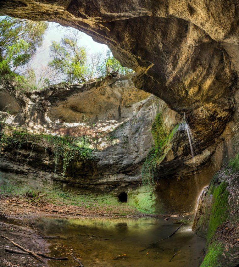 gli itinerari più avventurosi - la cascata dell'Inferno - foto di Giulio Giuliani