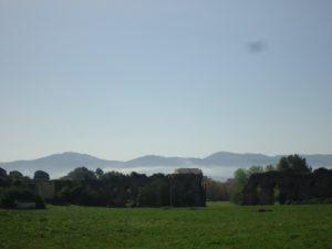 la tenuta della Mistica - non distante dal ponte della Barocella