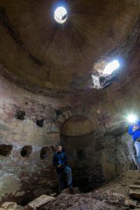 Le nuove guide ai luoghi segreti - il mausoleo del monte dell'Incastro