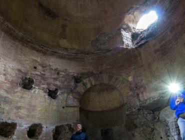 il mausoleo del monte dell'Incastro