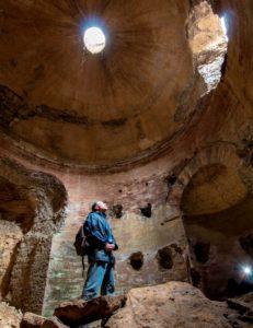 chi è luigi plos - in un mausoleo sotterrano a Guidonia - valorizzazione della provincia di Roma - foto di S. De Francesco