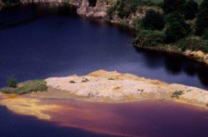 i laghi della solforata di Pomezia