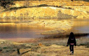 camminando fra i laghi della solforata di Pomezia