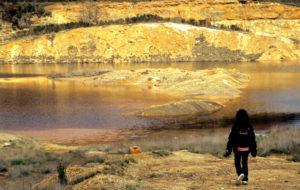 I laghi colorati non distanti dalla grotta del Fauno