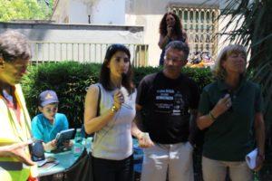 Luoghi segreti e Mass Media - presentazione del giorno 11/06/17 con la sindaca dell'area metropolitana di Roma