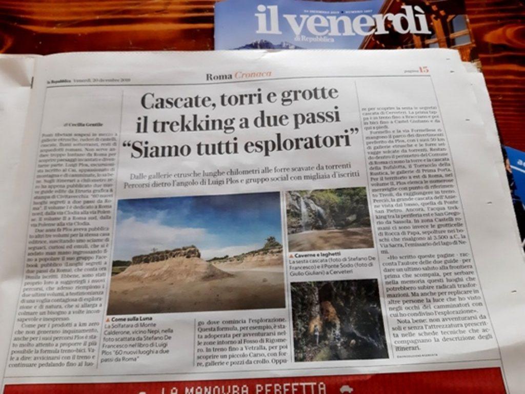 articolo di Repubblica
