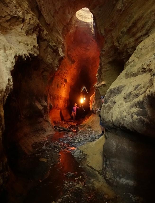 gallerie etrusche a Formello - escursioni del 2019 foto di M. Bordin