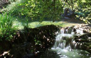 escursioni del 2018 - cascatelle lungo la forra del Ponte Taulella