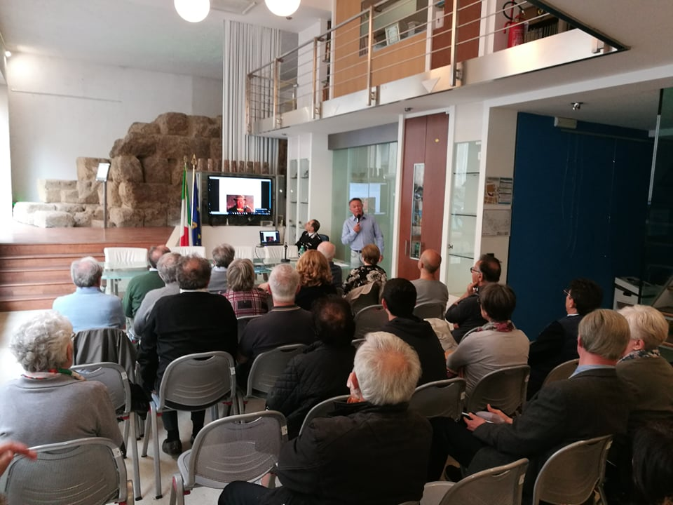 chi è luigi plos - videopresentazione presso la sede dei Forestali a Roma