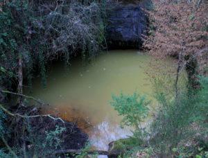 i segreti di Castelnuovo di Porto - specchio d'acqua presso Belmonte