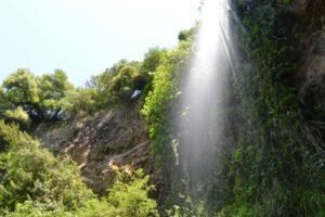 Le dieci cascate di Cerveteri - salendo verso Castel Giuliano
