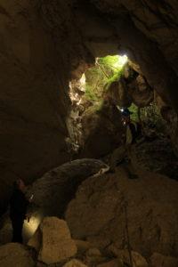 le strade dei romani - nelle cave di Grotta Oscura
