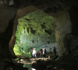 le strade dei romani - nelle cave del Fosso del Drago
