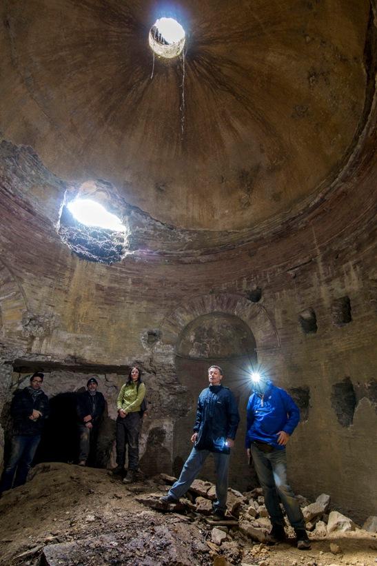 i segreti di Guidonia - mausoleo monte dell'incastro foto di stefano de francesco