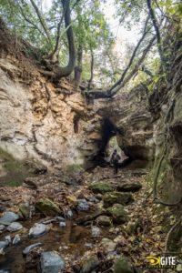 all'ingresso delle tre Fossate - Foto di Milco Graziani