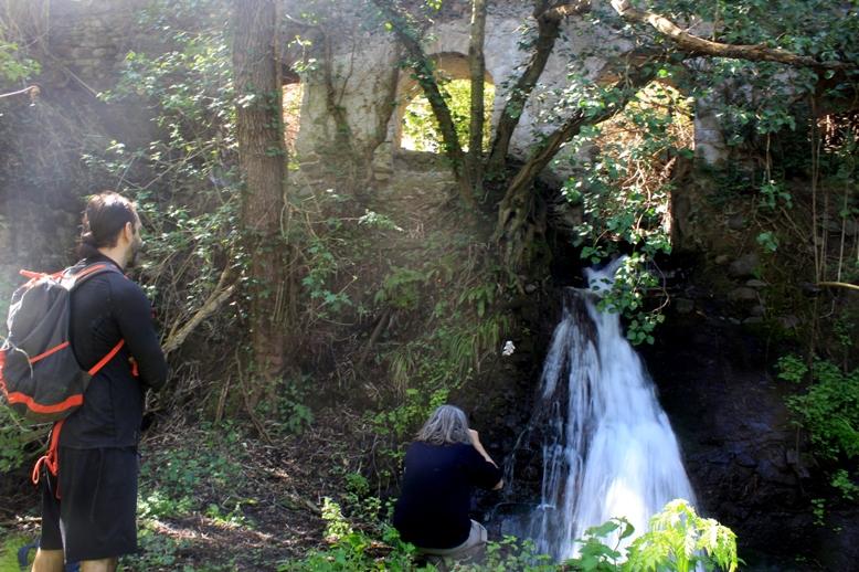 cascata e acquedotto presso il fosso Rigomero (Vetralla)