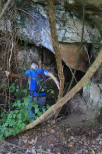 grotte sotto la torre della Bufalotta