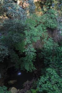 cascata presso la torre della Bufalotta 1