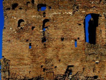 presso la cascata della Marcigliana - quarta guida