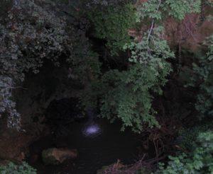cascata sotto la torre della Bufalotta