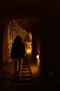 luoghi segreti e marketing - nei sotterranei di Orte