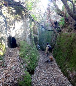 storie di luoghi segreti - presso S. Felice ( Ceri)