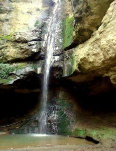 Luoghi esotici vicino Roma - La cascata dell'infernoLuoghi esotici vicino Roma - La cascata dell'inferno