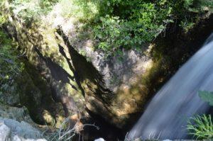 luoghi esotici vicino Roma - Cascata e canyon del Corese