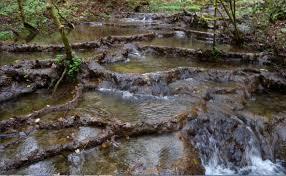 luoghi esotici vicino Roma - le sorgenti pietrificanti lombarde