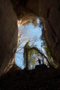 all'uscita delle Cave di Riano - foto di S. De Francesco