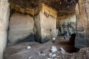 la maestosità delle Cave di Riano - foto di S. De Francesco