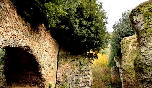 segreti dei dintorni di Roma (presso la Prenestina antica)