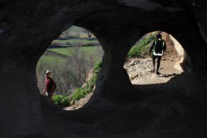 Da Valle Vescovo verso Grotta di Grottarossa