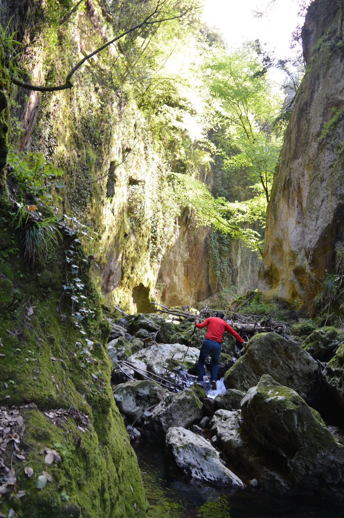 Come iniziò tutto - il canyon dell'Acqua Rossa (Roma)