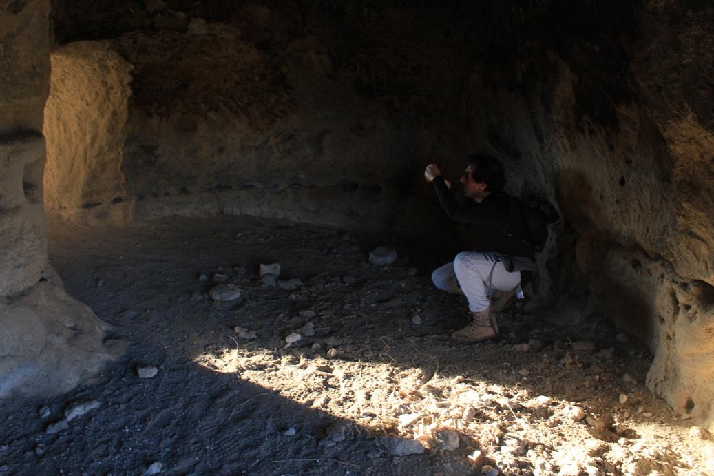 Fra le grotte sotto Belmonte - Castelnuovo di Porto