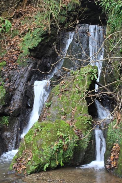 La cascata non distante da S. Felice - Genius Loci