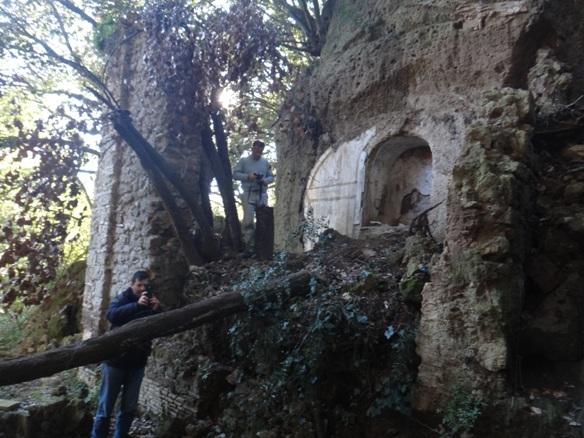 Luoghi segreti e genius loci - San Felice - Ceri - dopo il crollo del 2015