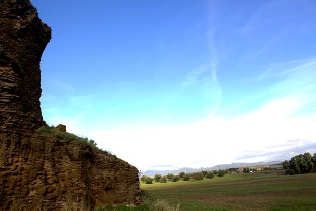 panoramica dei tumuli di Monteroni