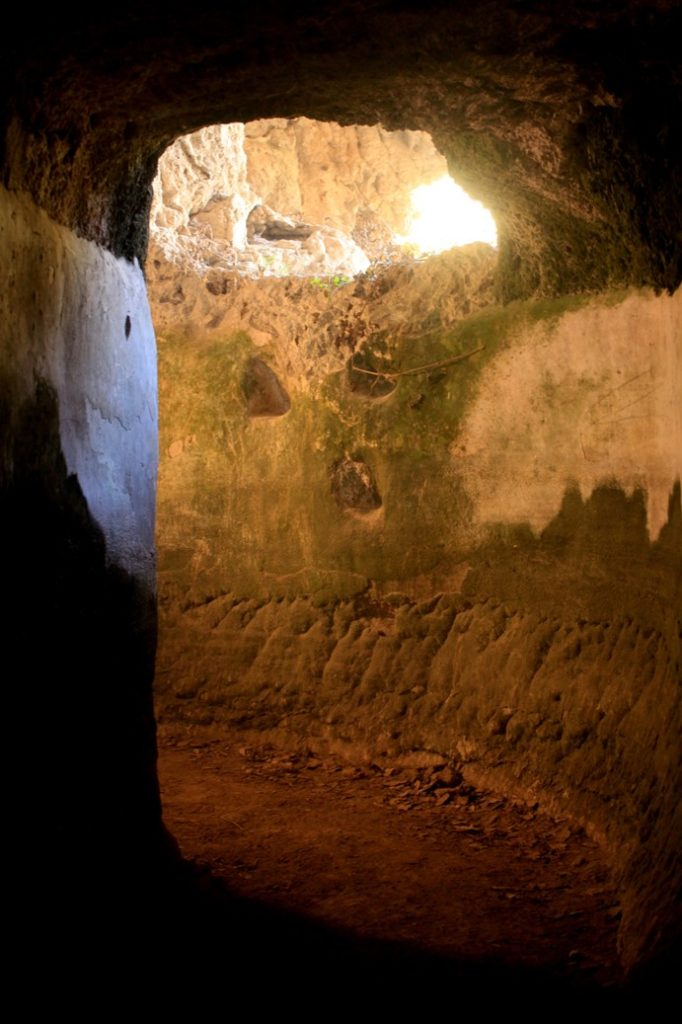 gli acquedotti romani presso gli eremi di S. Cosimato