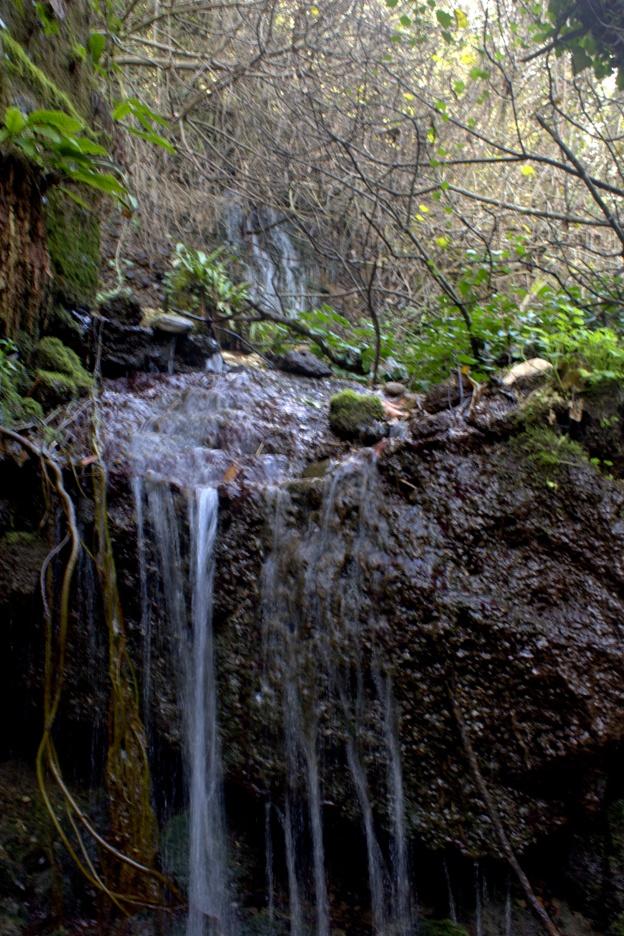 le cascate della mola di Castel S. Elia