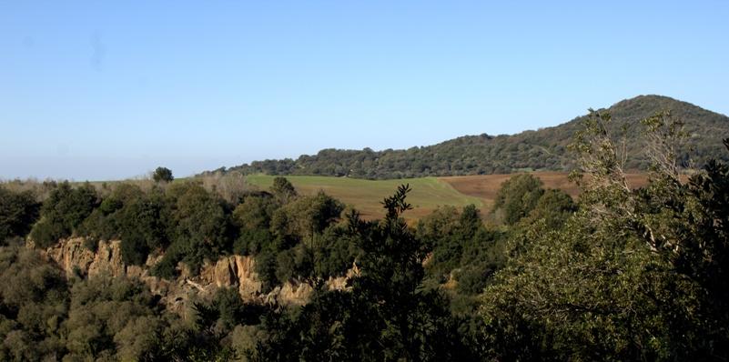 panorama da Castel Dannato