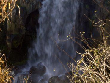 La cascata dei Cavaterra dal basso