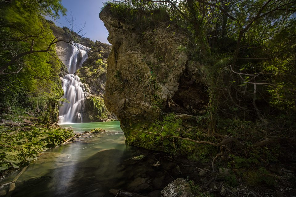 cascata dell'Aniene - foto di G. Giulian