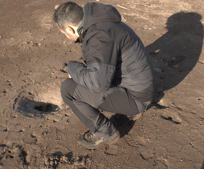 particolare della solfatara Monte Calderone - Nepi