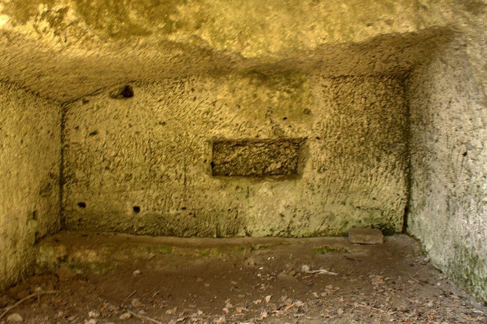 probabile tomba presso la Torraccia del Bosco