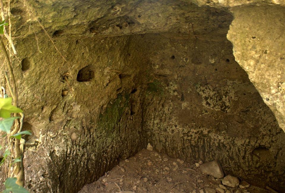 probabile tomba presso la Torraccia del Bosco 1